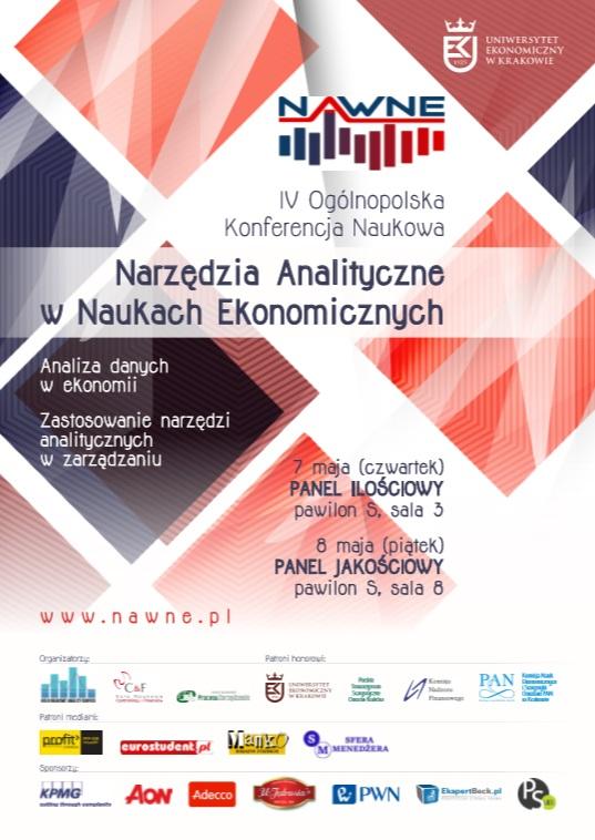 IV Ogólnopolska Konferencja Naukowa 'Narzędzia Analityczne w Naukach Ekonomicznc