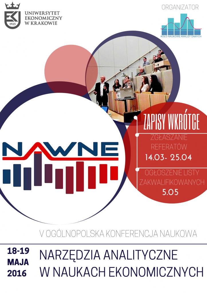 "V Ogólnopolska Konferencja Naukowa ""NAWNE""- zapisy ruszyły !"